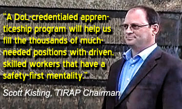 TIRAP to elevate wireless workers' safety and workforce opportunities