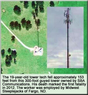 2012 Tower Technician Fatality