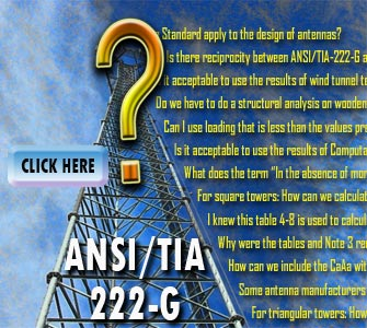 ANSI/TIA-222-G Questions answered in new Wireless Estimator Q&A module