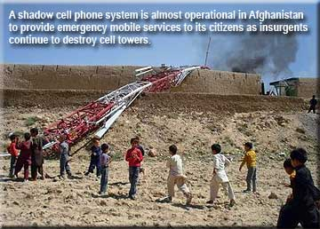 Afghanistan Cell Towers Destroyed