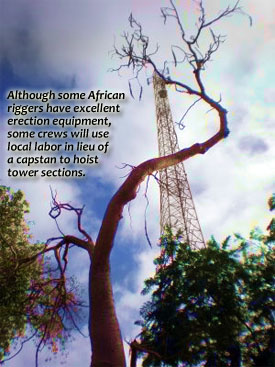 African Tower Erectors
