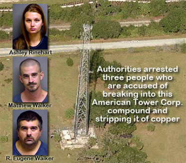 American Tower Copper Theft