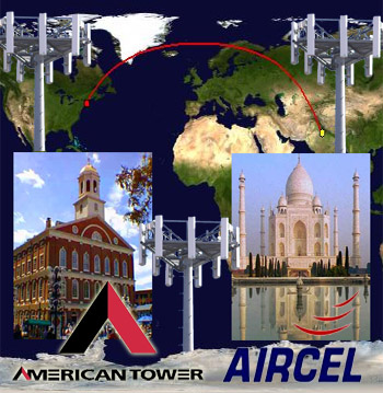 American Tower Aircel Towers