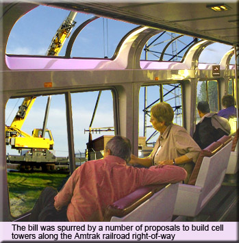 Amtrak Cell Towers