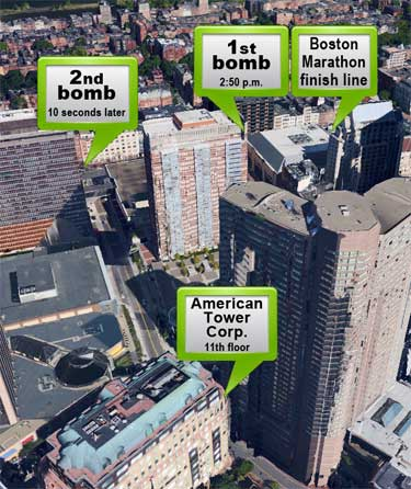 American Tower closes its doors for the day following Boston bombing