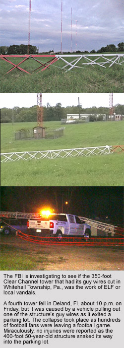 Broadcast Tower Collapse FL