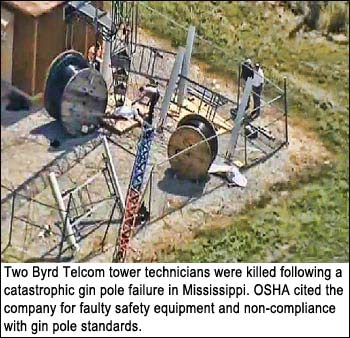 Two companies charged in three tower tech deaths