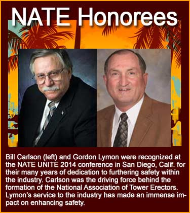 Bill Carlson and Gordon Lymon honored for dedication to safety