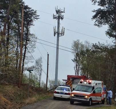 Near fatality in Alabama for cell phone tower worker