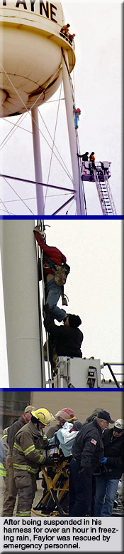 Cell Tower Climber Rescue