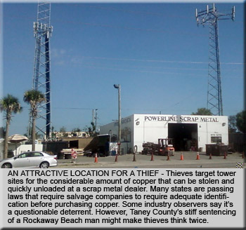 Cell Tower Theft