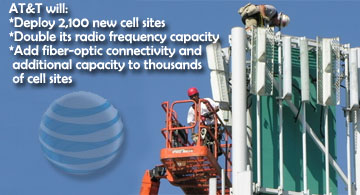 AT&T Cell Tower Sites