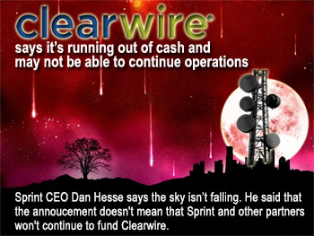 Clearwire Slowdown