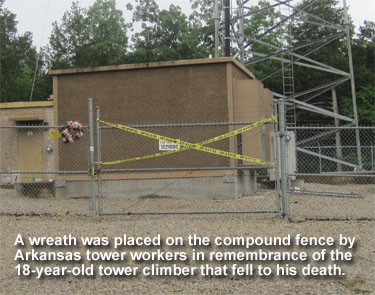 Tower Climber Death Arkansas