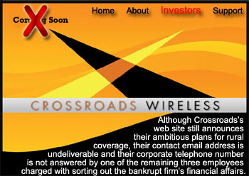 Crossroads Wireless Bankruptcy