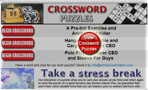 Wireless Crosswords