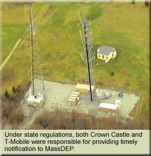 Crown Castle T-Mobile Fined