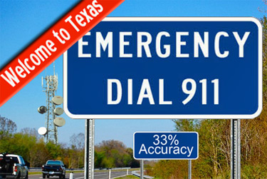 911 call locations have a poor tracking rate