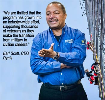 Earl Scott, Dynis Tower Solutions