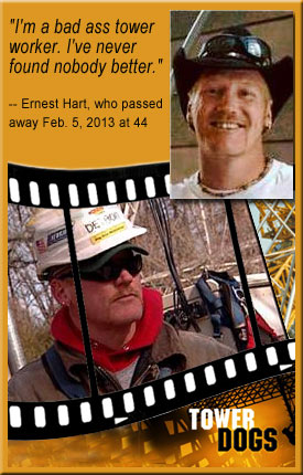 Tower Dogs Ernest Hart passes away at age 44