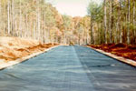 Access Road - Geotextile Fabric - Material