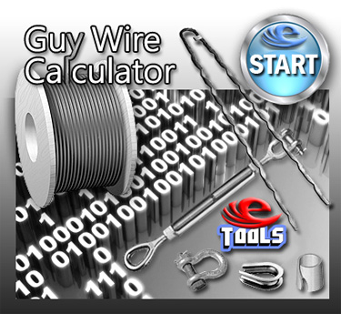 Guy Wire Calculator for Towers
