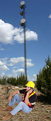 Guyed Tower Construction