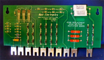 High Voltage Rectifier Board