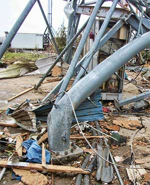 Joplin Tornado Tower Damage