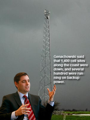 Hurricane Irene doesn't take toll on towers - Genanchowski