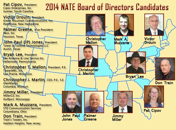 NATE Directors race has record challengers