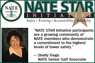 Shelly Trego, National Association of Tower Erectors