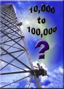 Number of Tower Climbers