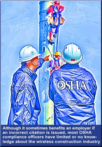 Majority of OSHA inspectors have limited knowledge regarding tower safety