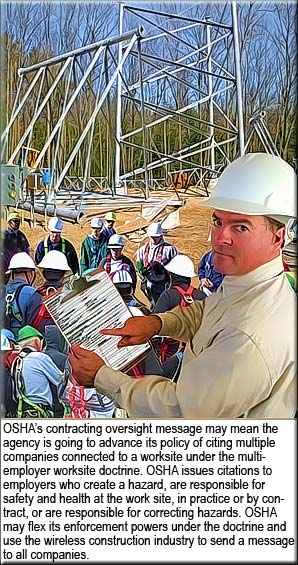 OSHA tackles high fatality rate in wireless construction