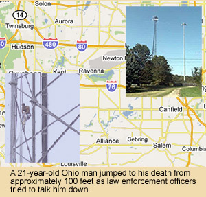 Ravenna Ohio Cell Tower Death
