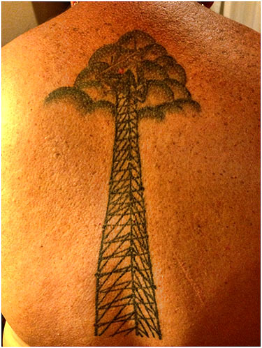 Tower Climber Tattoos