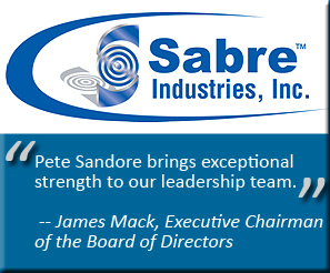 Sabre Industries Pete Sandore