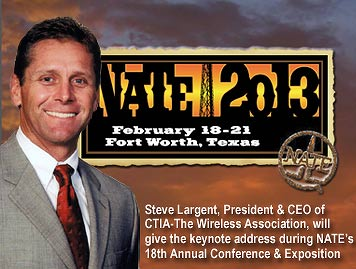 Steve Largent to provide keynote speech for NATE's 18th annual conference