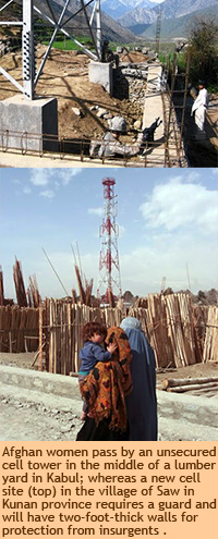 Afghanistan Cell Tower