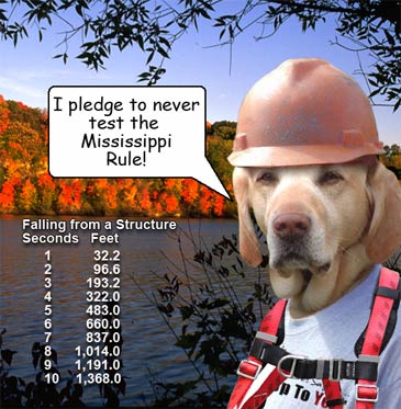 Take the pledge to never test The Mississippi Rule