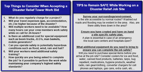 Hurricane Tower Contracts – Job Site Specific Safety Plan