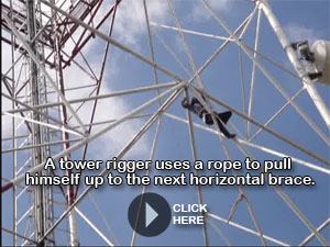 Telecommunications Tower Climber