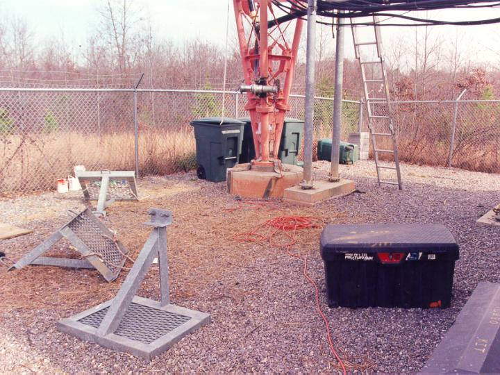 tower incident site