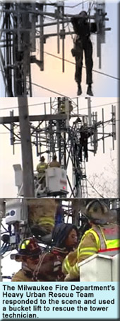 cell tower rescue