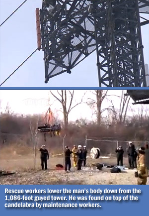 Tower Climber Suicide Michigan