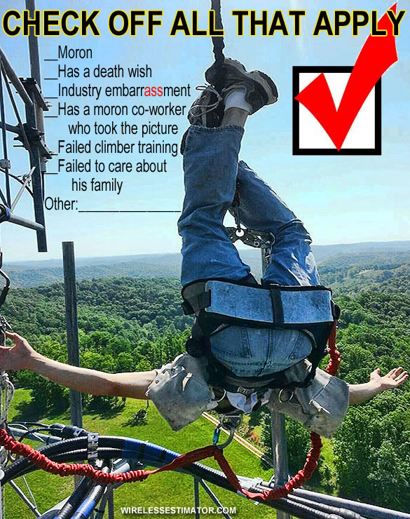 Disregard for tower climber safety programs