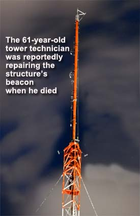 Florida tower tech dies working on broadcast tower