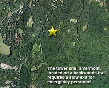 Tower Tech Injuries Vermont