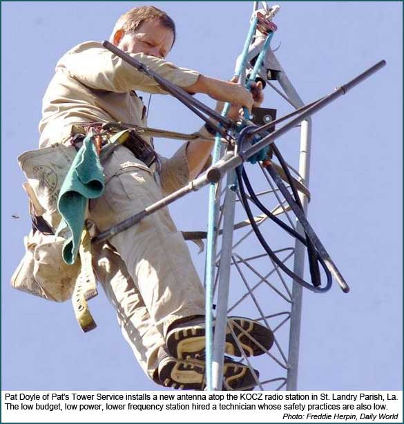 Low priority of tower tech safety